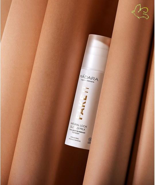 MADARA FAKE IT Natural Look Self Tan Milk organic cosmetics