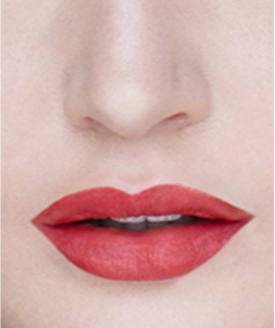 Lily Lolo Lippenstift Natural Lipstick French Flirt swatch