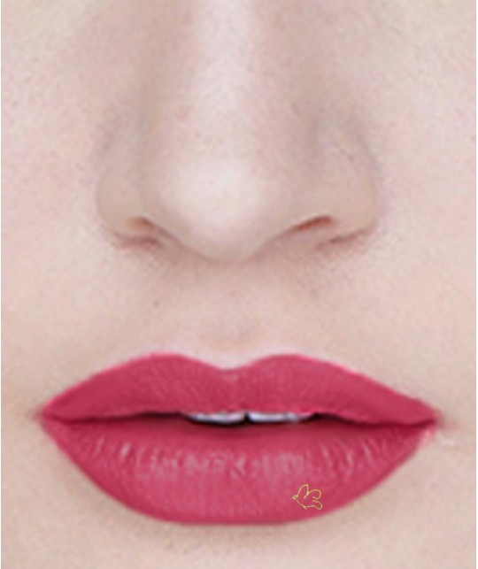 Lily Lolo Natural Lipstick Lippenstift Passion Pink swatch