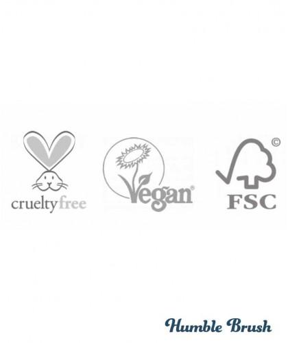 The Humble Co. Wattestäbchen aus Bambus und Bio Baumwolle umweltfreundlich vegan cruelty free Zertifizierung