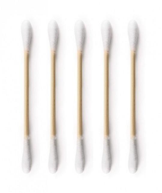 The Humble Co. Wattestäbchen aus Bambus und Bio Baumwolle umweltfreundlich
