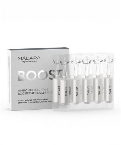 Madara cosmetics Amino-Fill 3D Lifting Booster Ampoules  organic