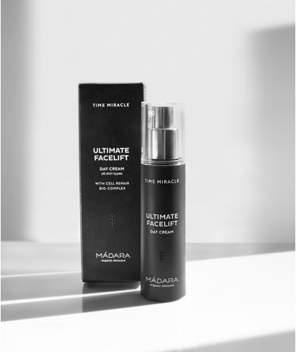 MADARA TIME MIRACLE Ultimate Facelift Day Cream Anti Aging Tagescreme Naturkosmetik