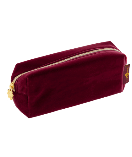 LILY LOLO Kosmetiktasche Bordeaux-Rot Limited Edition