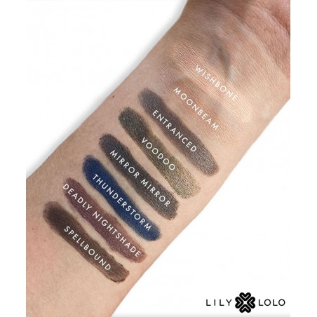 Lily Lolo Palette Yeux Enchanted swatch