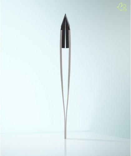 Rubis Switzerland Tweezers Classic Techno Slanted tips Steel Men collection
