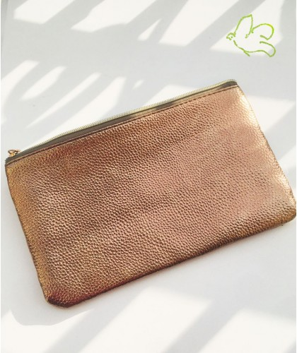JJDK Cosmetic Bag bronze