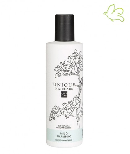 UNIQUE Haircare Mild Shampoo fragrance free 250ml