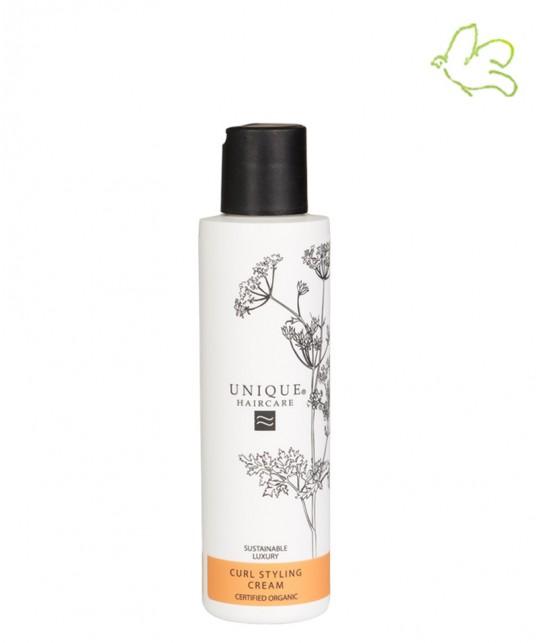 Unique Haircare - Crème de Définition Boucles bio sans parfum flacon 150ml