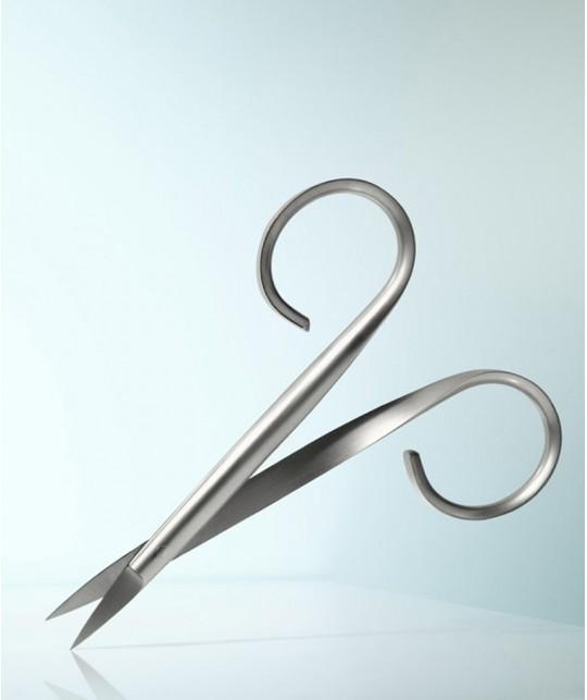 Nagelschere Rubis Switzerland  Maniküre Präzision Design Fingernägel Nagelhaut Edelstahl