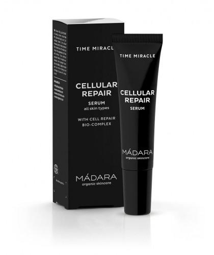 Madara organic cosmetics - TIME MIRACLE Cellular Repair Serum mini travel size