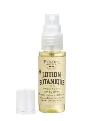 Féret Parfumeur Lotion botanique 100% naturelle mini spray voyage huile corps naturelle végétale