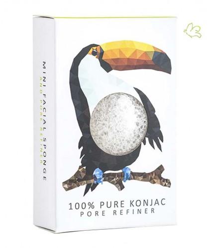 Eponge Konjac l'Originale Mini peau normale pore refiner vegan