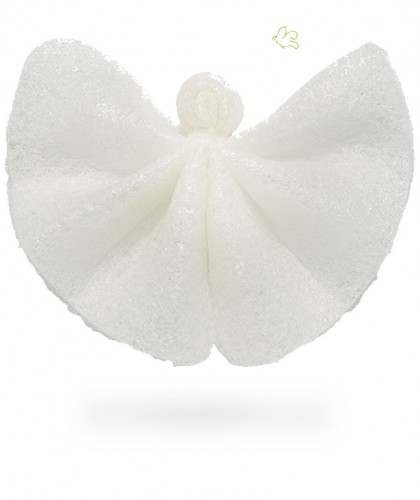 Konjac Sponge 100% Pure Konjac Angel Cloth vegan