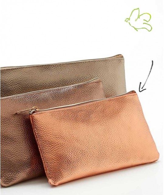 JJDK Cosmetic Bag copper
