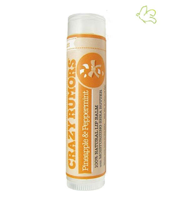Crazy Rumors - Natural Lip Balm Pineapple & Peppermint