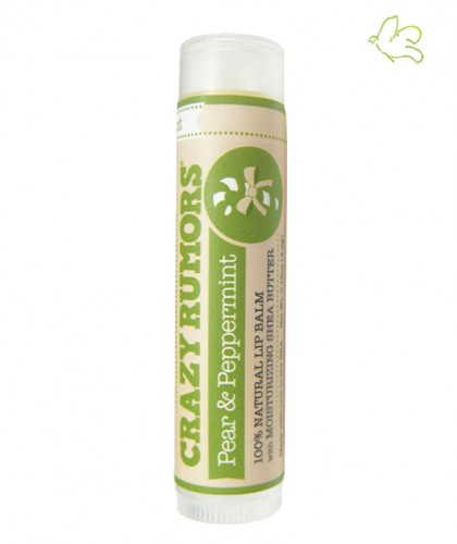 Crazy Rumors Natural Lip Balm Pear & Peppermint