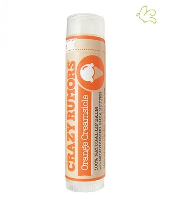 Crazy Rumors Natural Lip Balm Orange Creamsicle