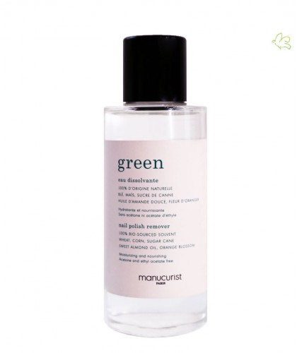 MANUCURIST Eau Dissolvante GREEN beauté bio ongles naturel made in France Paris