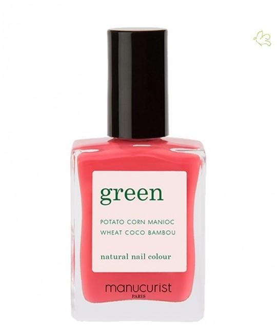 MANUCURIST Vernis naturel GREEN - Azalea rose pétillant