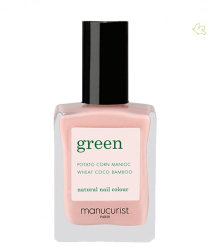 Manucurist Nail Polish GREEN Bare Skin nude vegan
