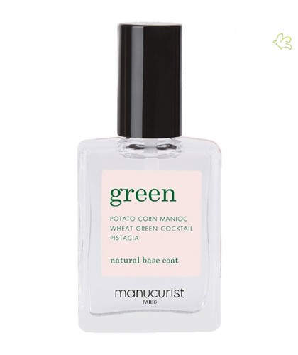 Manucurist Paris GREEN Base coat nail care vegan natural beauty