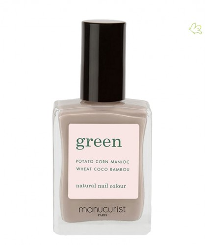 Manucurist Paris Nagellack GREEN Dove Beige Grau
