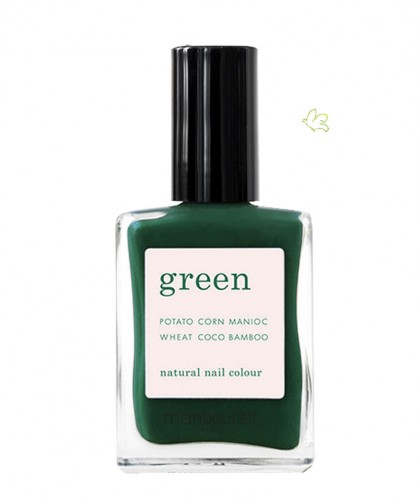 Manucurist Paris Nail Polish GREEN Emerald
