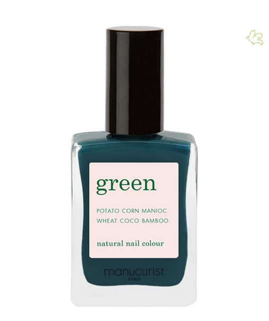 Manucurist Paris - Nail Polish GREEN Dark Clover