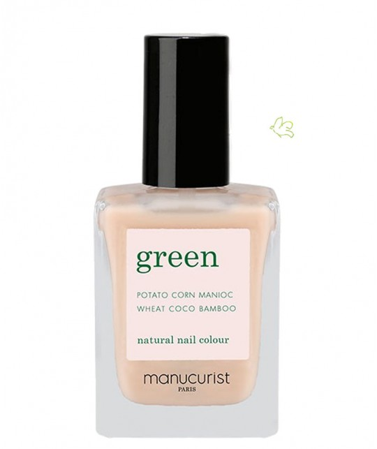 Manucurist Nail Polish GREEN Nude natural color vegan