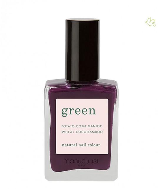 Manucurist Paris - Vernis GREEN Purple Spinel violet naturel mauve ongles vegan cruelty free