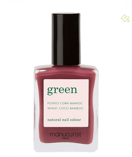 MANUCURIST Vernis GREEN Victoria Plum prune naturel bambou vegan 9 free