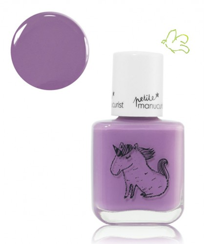Petite Manucurist Kid Safe Nail Polish purple LILY la Licorne