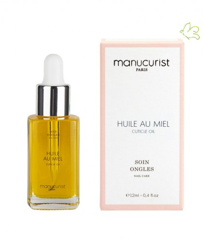 Cuticle Oil Honey Manucurist Paris nourishing nail care treatment Huile au Miel
