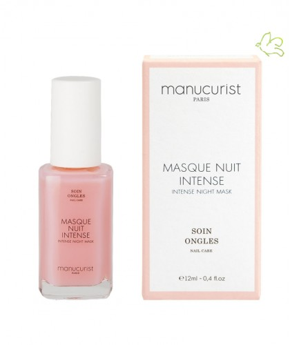 Manucurist Paris Intense Night Mask nourishing nail treatment care natural
