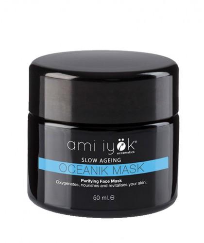 Ami Iyök Oceanik Mask Masque purifiant oxygénant certifié bio Natrue