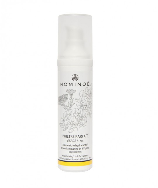 NOMINEE Philtre Parfait moisturizing rich Face Cream organic cosmetics from Brittany