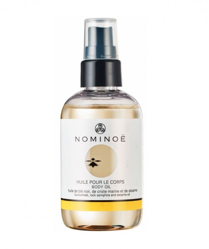 Nominoe Body Oil organic cosmetics Brittany France natural beauty