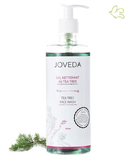 Joveda Tea Tree Face Wash 500ml acne
