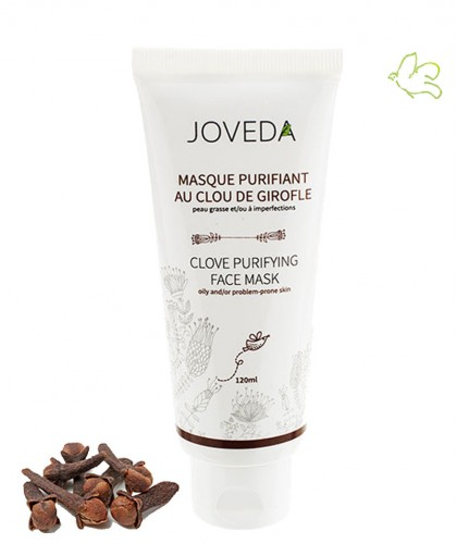 Joveda Masque Purifiant au Clou de Girofle Anti-Imperfections vegan acné