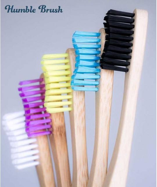 Humble Brush Brosse à Dents en Bambou écologique certifié Vegan Cruelty free design suédois