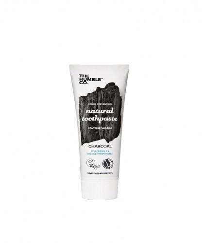 Humble Brush Natural Toothpaste Charcoal Zahnpasta Aktivkohle 10ml Reisegrösse schwarz