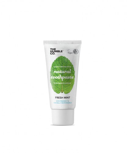 Humble Brush Natural Toothpaste Fresh Mint Mini Zahnpasta Frische Minze 10ml Reisegrösse Mini