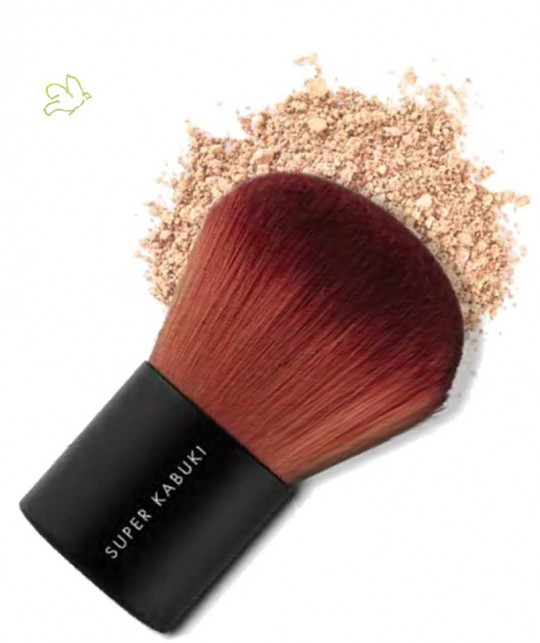 Super Kabuki Brush Lily Lolo mineral cosmetics foundation