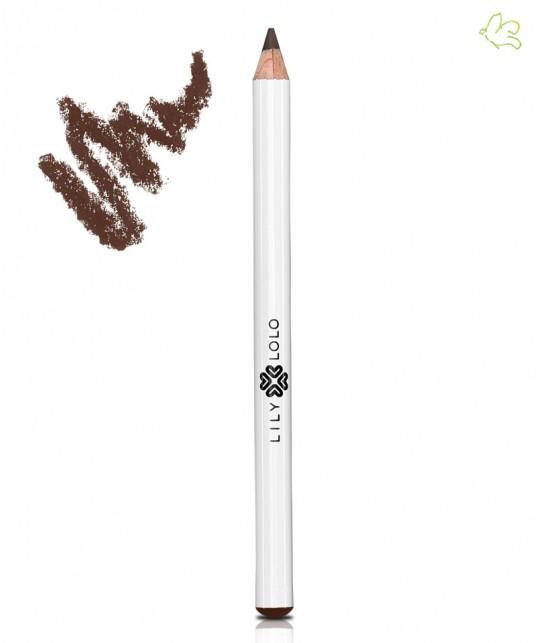 Lily Lolo Crayon Yeux Naturel chocolat marron doux maquillage minéral végétal yeux sensibles