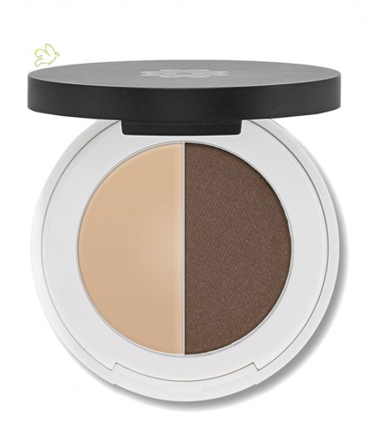 Lily Lolo - Eyebrow Duo - medium. mineral cosmetics