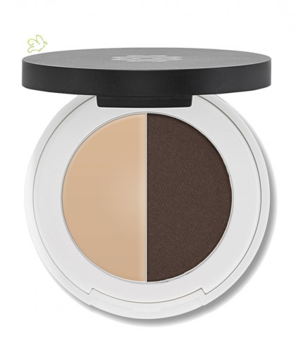 Lily Lolo - Augenbrauen Duo. Dark. mineral cosmetics natural beauty