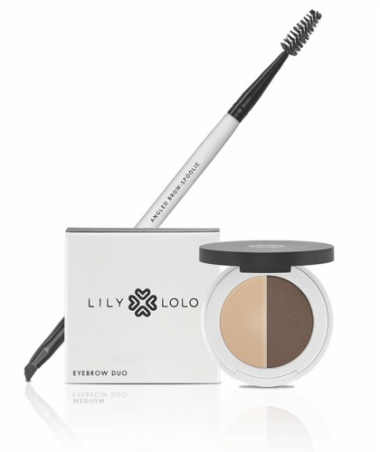 LILY LOLO Angled Brow Spoolie Brush