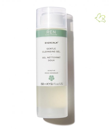 REN Skincare - EverCalm Gel Nettoyant Doux peau sensible irritations naturel bio