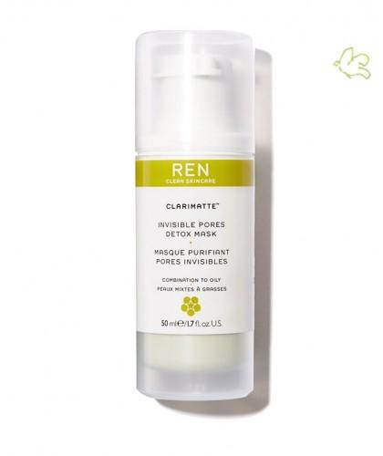 REN Masque Purifiant Pores Invisibles Clarinette peau grasse acnéique clean skincare